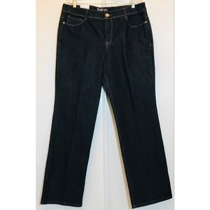 New! Style & Co Straight Leg Stretch Jeans Sz. 16